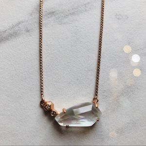 Kendra Scott Rose Gold Bridal Necklace